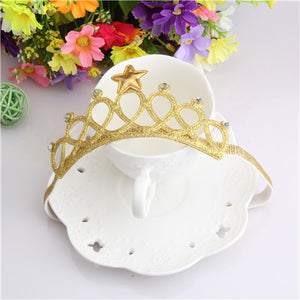 Glittering Crown Headband