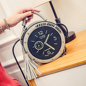 Clock Shoulder Bag