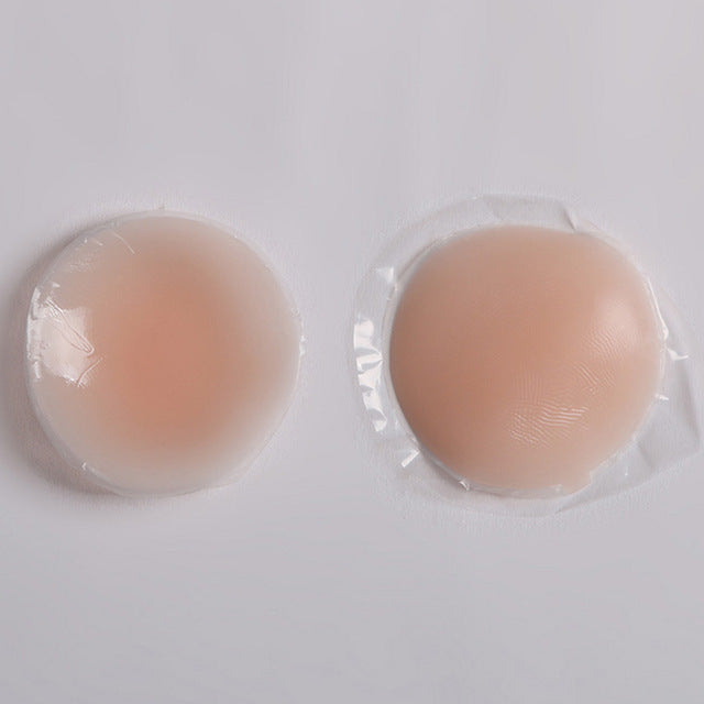 Self-adhering Silicon Breast Enhancer