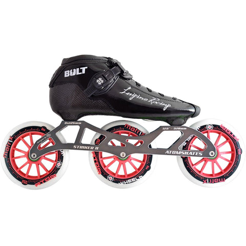 Luigino Bolt 3x125 Inline Skate Package