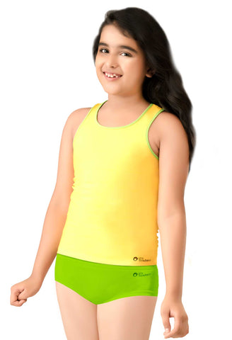 Little Strawberry Racer Back Tank Top for Girls - LS16