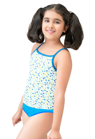 Little Strawberry Printed Camisole for Girls - LS17