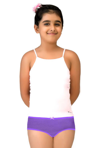 Little Strawberry Camisole with Hidden Bustier  for Girls - LS06