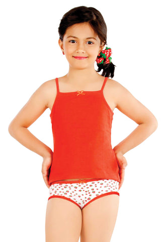 Little Strawberry Basic Mid Waist Panty for Girls - LS08