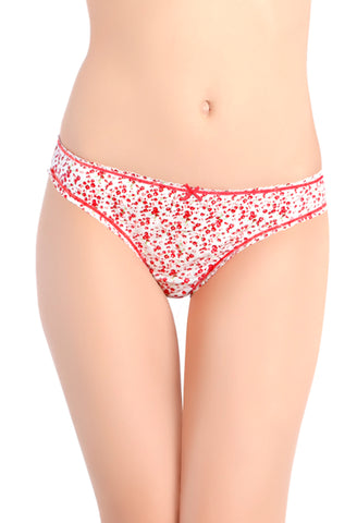 Strawberry Lenceria Floral Panty