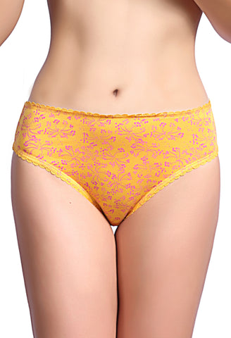 Strawberry Lenceria High Cut Panty