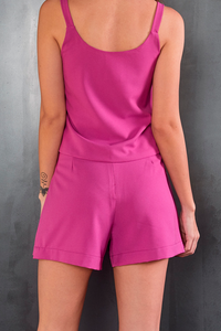 Short Saia Timeless Rosa