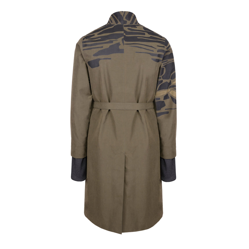 KHAKI WATERPROOF COAT