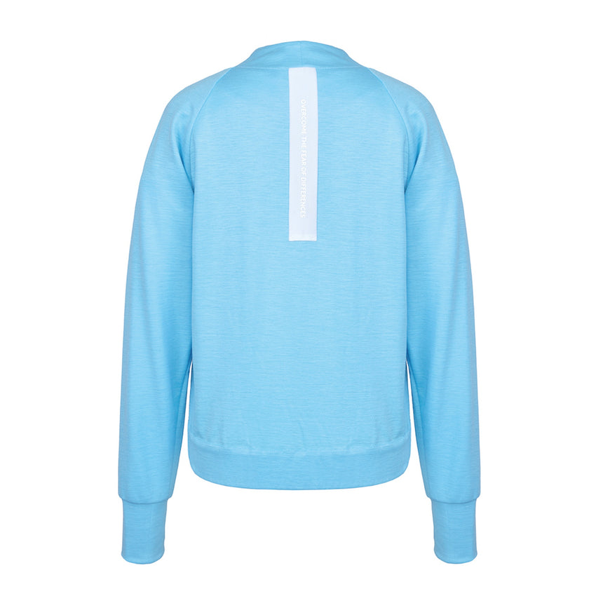 HEAVEN BLUE RAMIE SWEATSHIRT - LIMITED