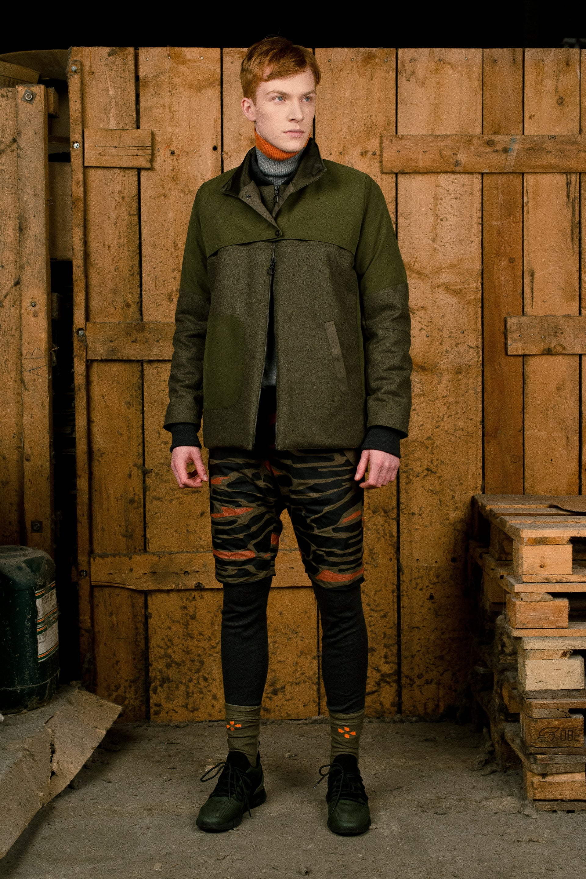 DARK OLIVE WINTER JACKET