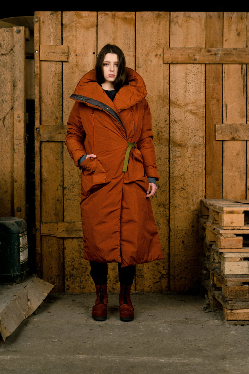 PICANTE RUST WINTER COAT