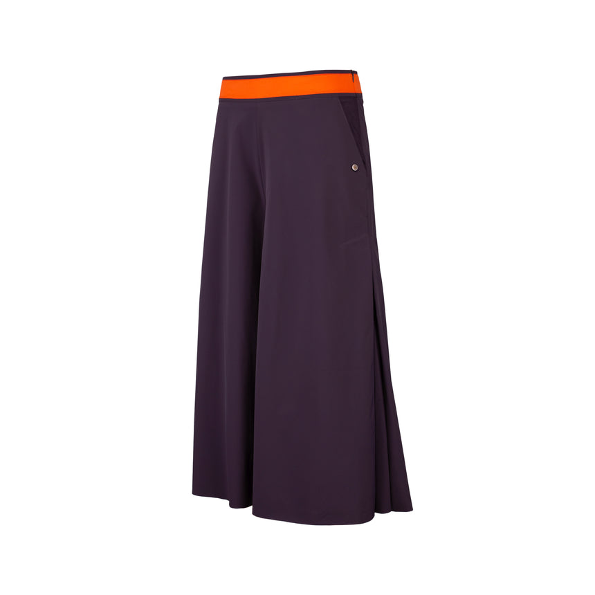 NIGHTSHADE PURPLE CULOTTES
