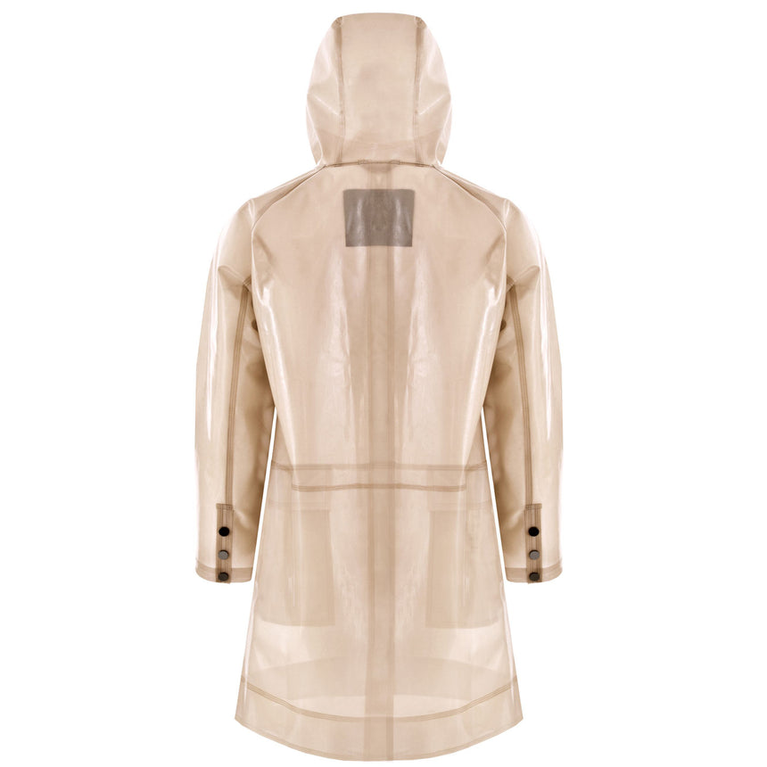BEIGE WATERPROOF RAINCOAT