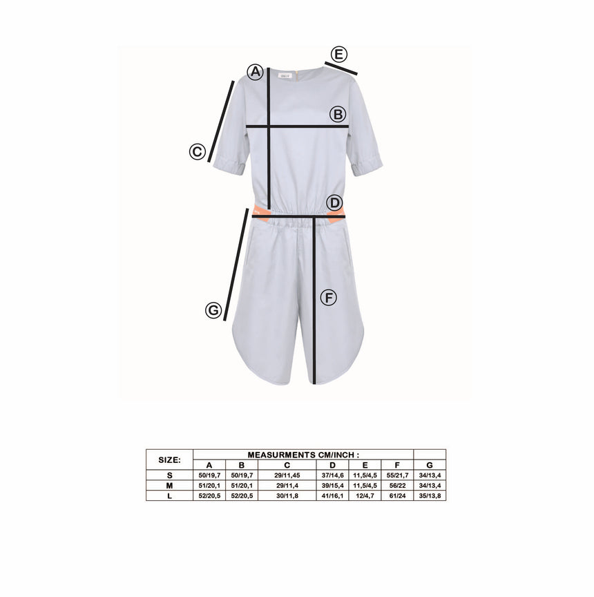 IDENTITY GREY JUMPSUIT