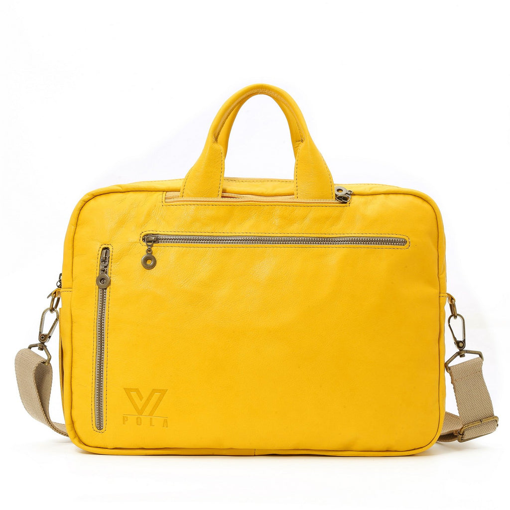 Laptop Bag IN Yellow