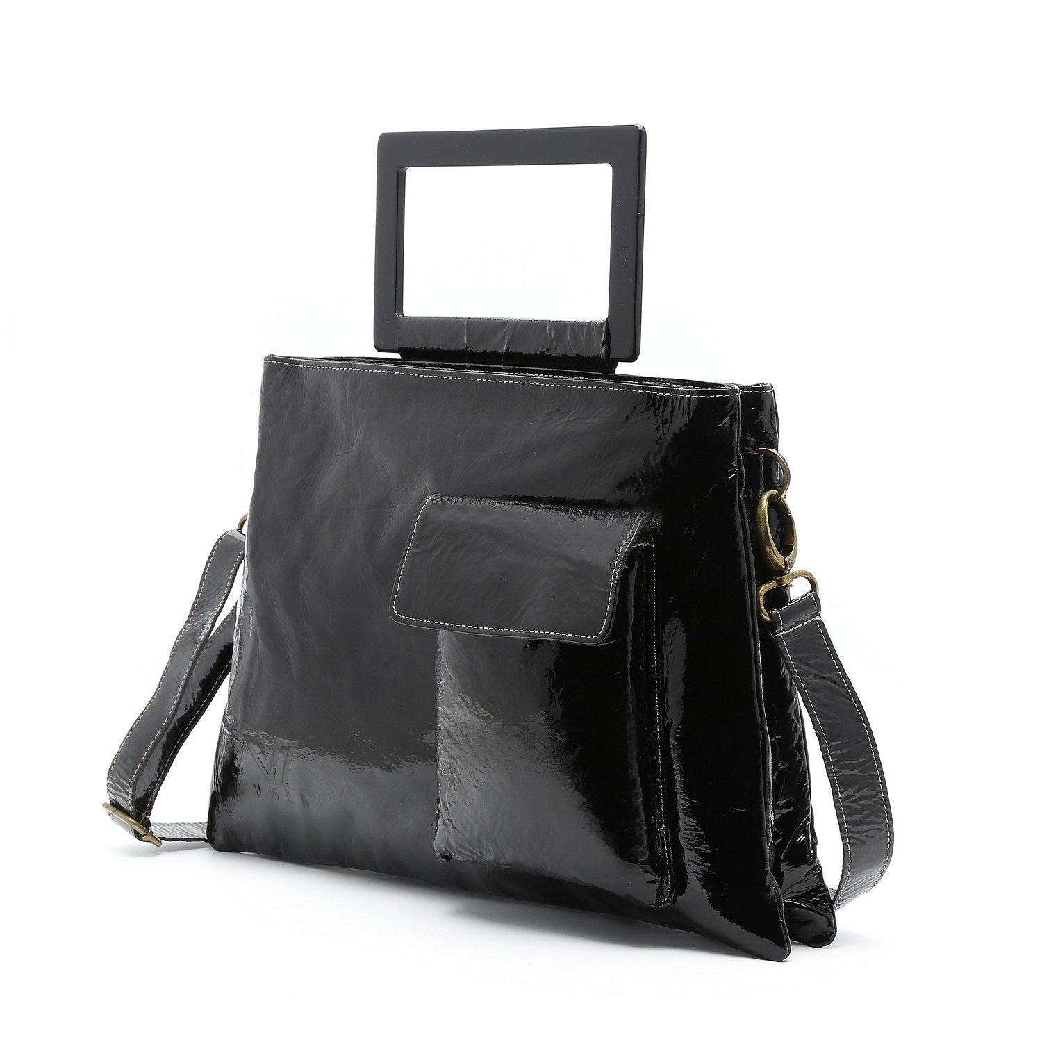 9faf907bf03 Black Leather Bag, Women Handbag, Laptop Bag, Leather Handbag, Shoulder Bag,