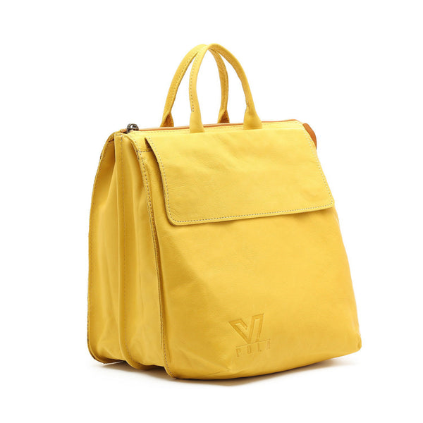 Yellow Medium Messenger, Leather Tote ,Black Leather Bag, Shoulder Bag, Crossbody Bag , Laptop Bag Women, Work Bag, Office Bag