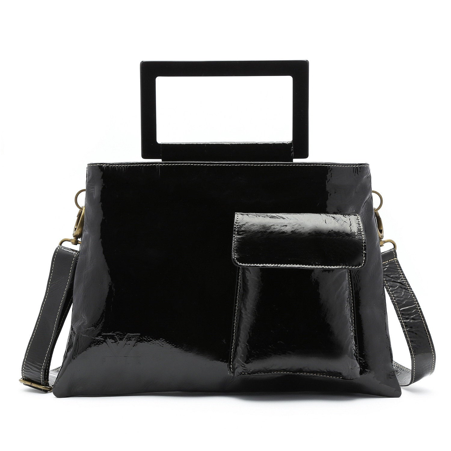 Black Leather Bag 373f9df39bc1d