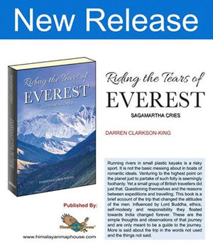 Riding the Tears of Everest - Darren Clarkson King