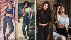 Crop Tops with Selena Gomez