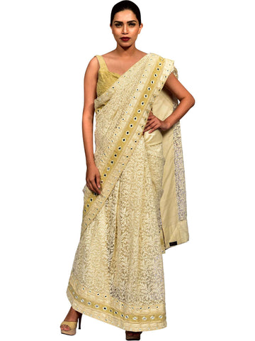 Saree With Blouse By Sridevi Gogga