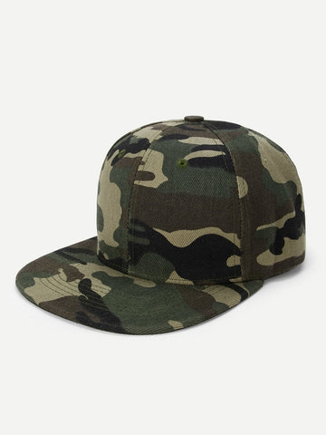 Camouflage Snap Cap