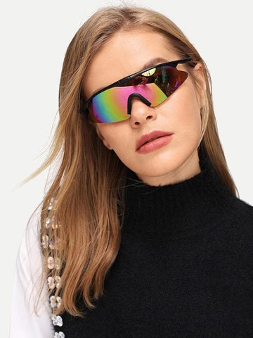 Multicolor Tinted Lens Outdoor Riding Anti-Sand Sunglasses