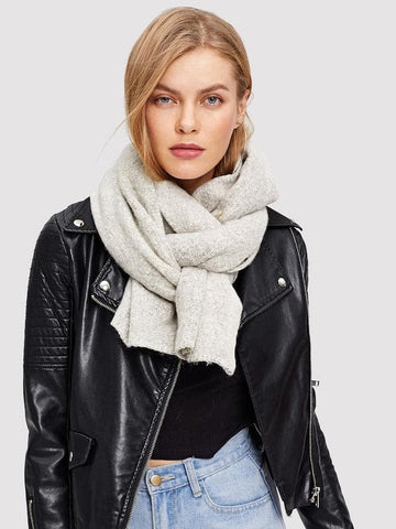 Polyester Plain Soft Scarf