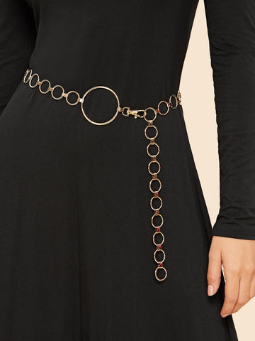Metal Chain Belt
