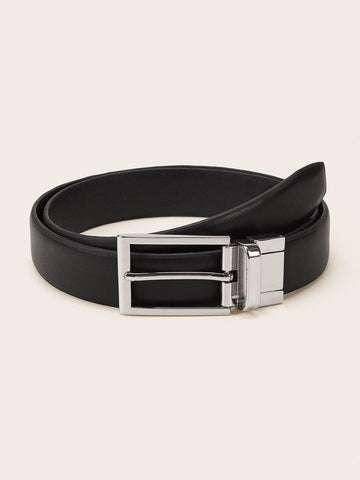 Black Metal Buckle Belt