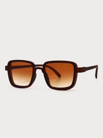 Boho Square Frame UV Protected Sunglasses