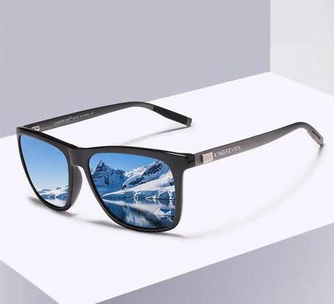 Unisex Retro Aluminum+TR90 Polarized Lens Sunglasses