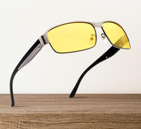 Yellow Driving Eyewear Polarized Night Vision Sunglasses