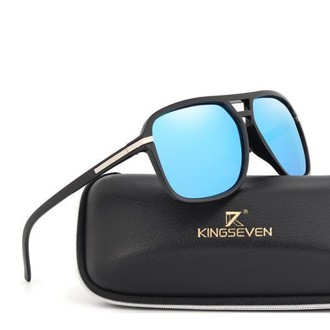 Vintage Mirror Driving Polarized Sunglasses