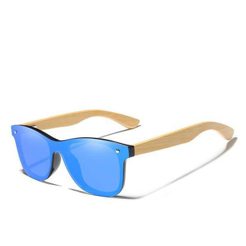 Bamboo Temples Classic Square Polarized Sunglasses