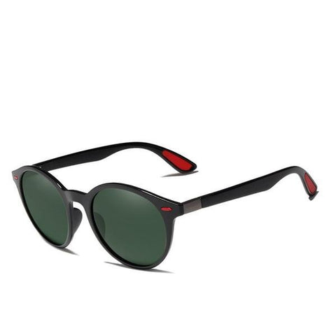 TR90 Vintage Polarized Oval Frame Unisex Night Vision Sunglasses
