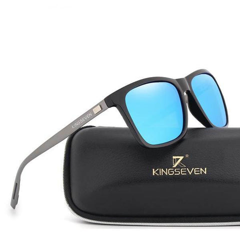 Fashion Aluminum Unisex Square Designer UV400 Driving Polarized Sunglasses