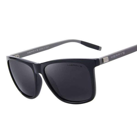 Unisex Retro Aluminum Polarised Lens Photochromic Mirror Polarised Anti-Reflective UV400 Sunglasses