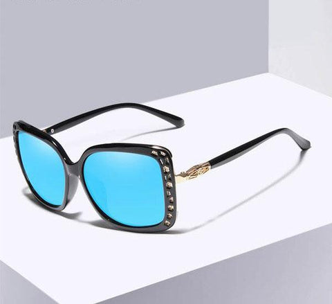 Butterfly Mirror Lens Polarized Sunglasses