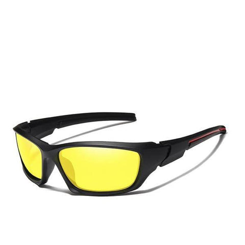 TR90 Frame Night Vision Mirror Polarized Sunglasses