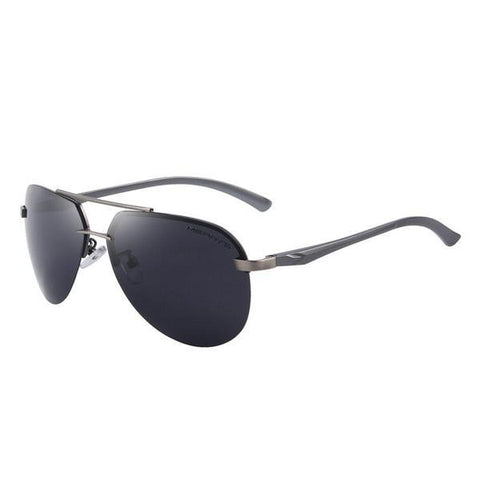 100% Polarized Aluminum Alloy Frame Driving Sunglasses