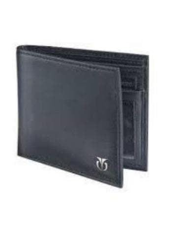 Formal Black Leather Wallet