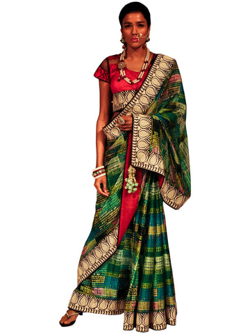 Saree by Ambrish Damani
