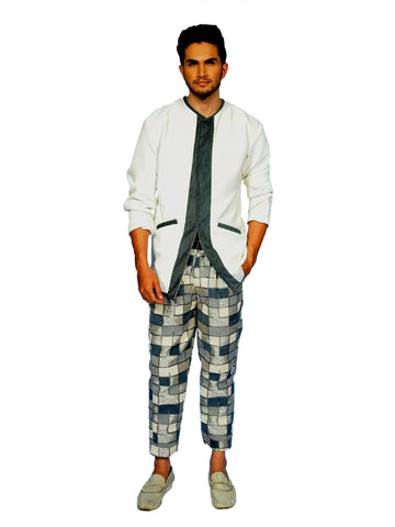 heck And Mate Jacket Trouser By Anvita Thakkar