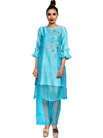 Sea Green Tunic  by Amita Gupta