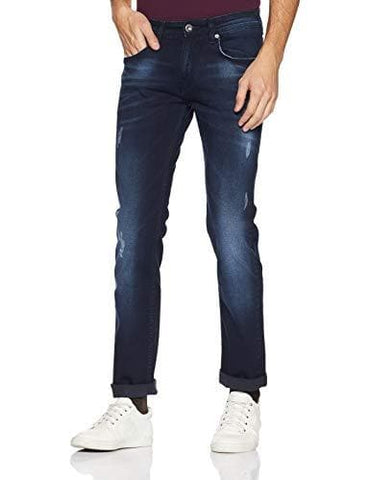 Pepe Enzyme Washed Zip Fly Slim Fit Jeans