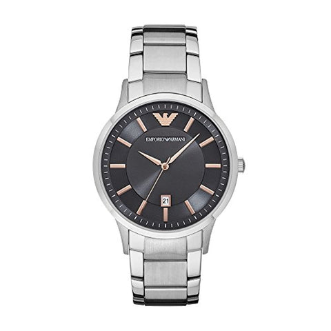 Analog Gunmetal Dial Men's Watch