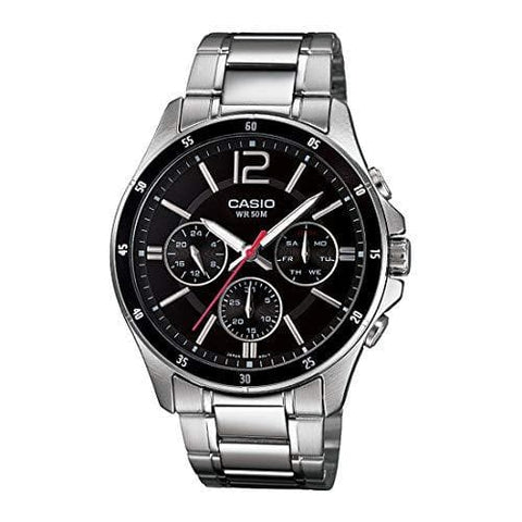 Water Resistance Enticer Black Dial Watch