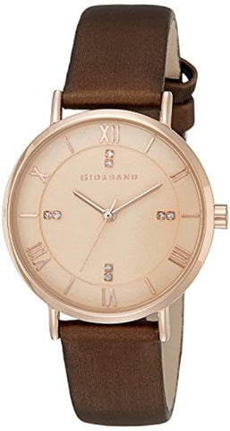 Rose Gold Dial Women's Watch- A2065-01