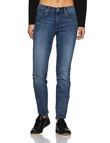 GAP Women's Mid Rise True Skinny Indigo Wash Jeans